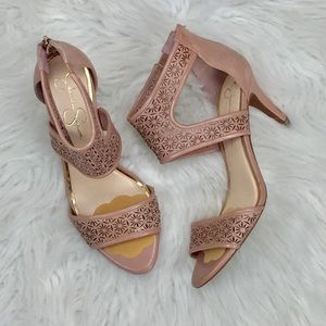 [Jessica Simpson] Heels Size 9.5 Shoes Leather